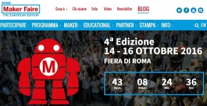 Maker Faire Rome – The European Edition - Roma 14-16 ottobre 2016