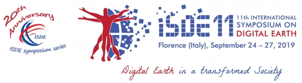 ISDE 11 - 11th International Symposium on Digital Earth - Firenze 24-27 settembre 2019