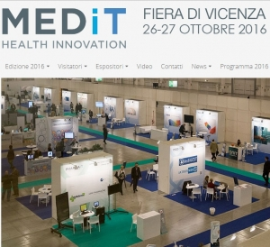 MEDiT – Health Innovation - Vicenza 26 - 27 Ottobre 2016