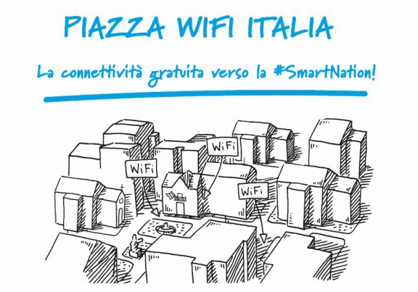 Piazza Wifi Italia: la connettività gratuita verso la Smart Nation!