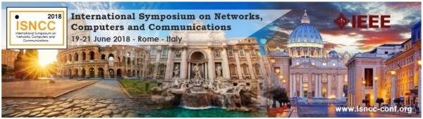 The International Symposium on Networks, Computers and Communications - Roma 19 - 21 giugno 2018