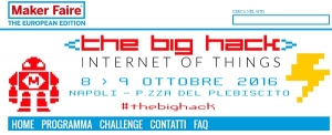 THE BIG HACK - Napoli 8-9 ottobre 2016