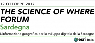 The Science of Where Forum in Sardegna il 12 ottobre 2017