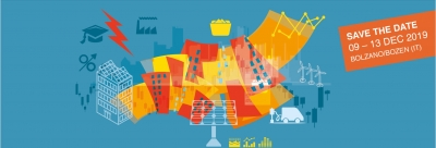Smart and Sustainable Planning for Cities and Regions – SSPCR 2019 - Bolzano 9-13 dicembre 2019