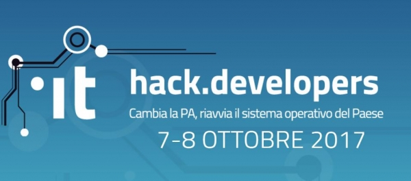 Hack.Developers - Italia 7-8 Ottobre 2017