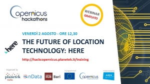 "Webinar Gratuito ""The future of location technology: HERE"""