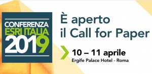 Conferenza Esri Italia 2019: aperto il Call for Paper