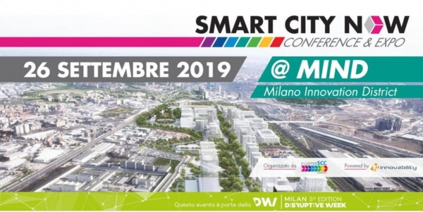 Smart City Now 2019 - Milano 26 settembre 2019