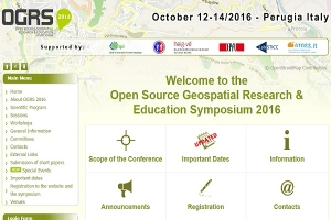 Open Source Geospacial Research & Education Symposium